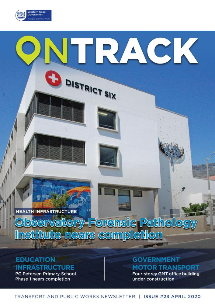 On Track magazine cover