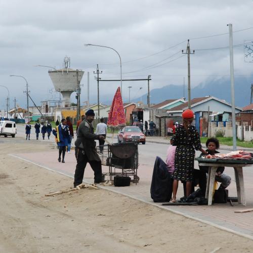 Nelson Mandela Boulevard: Thembalethu: 26th Street context