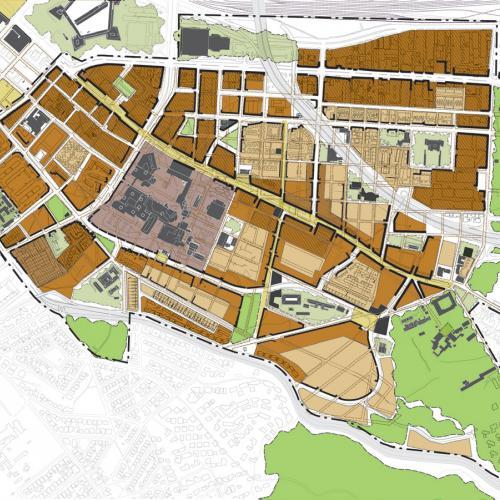 Indicative Land Use Framework Plan