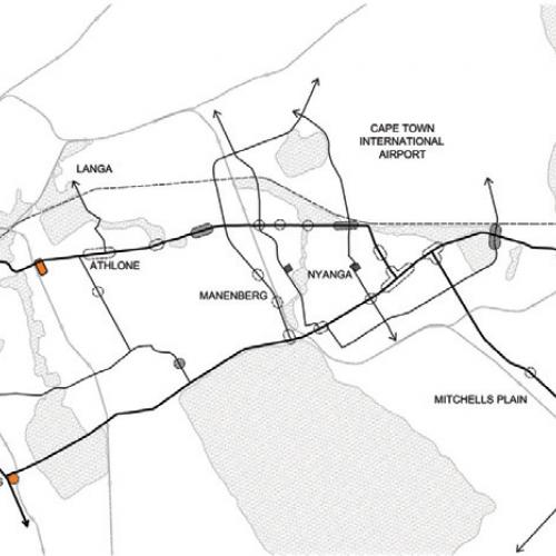 Nodes and precincts for priority investment along Klipfontein Road