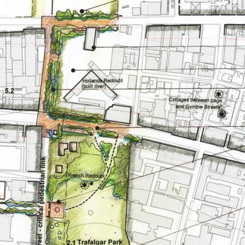 Focus Area 1: Trafalgar Park Forecourt