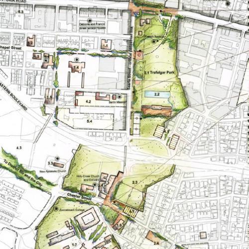 Precinct 1: Trafalgar Park
