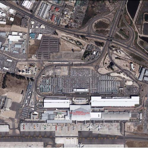 Cape Town International Airport Aerial Photograph